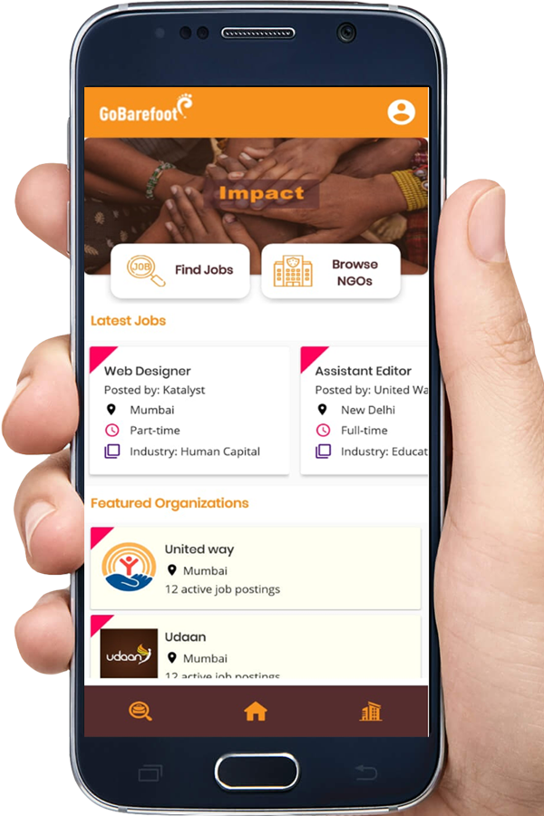 Download Gobarefoot App Now